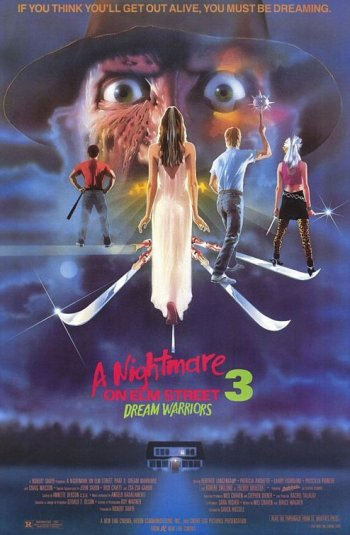 Nightmare on Elm Street 3 Poster