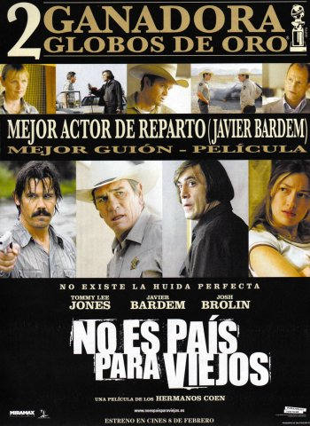 No Country For Old Men Poster - Spain