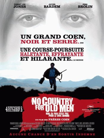 No Country For Old Men Poster - France