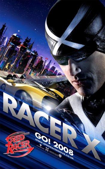 Speed Racer Racer X Poster