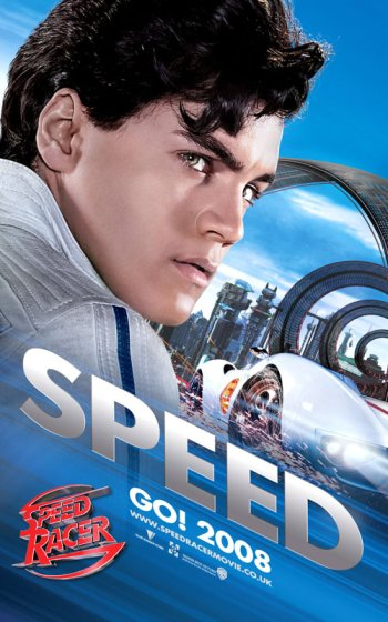 Speed Racer Speed Poster