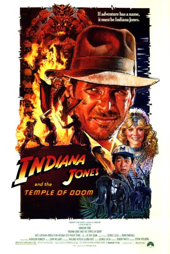 Temple of Doom Poster