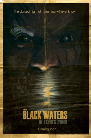 The Black Waters of Echo's Pond Poster 2 (Big)