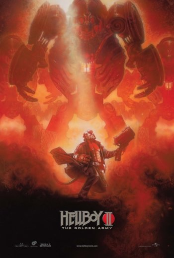 NY Comic Con Hellboy 2 Poster