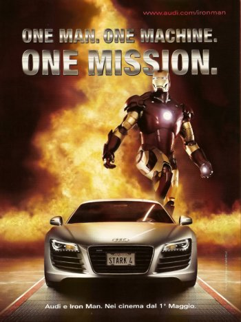 Iron Man Audi Poster