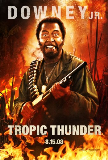 Tropic Thunder Poster Robert Downey Jr.