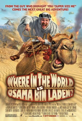 Where in the World is osama Bin Laden Poster