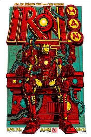 Iron Man Alamo Poster
