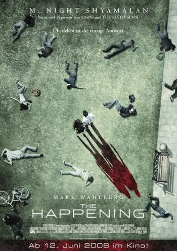The Happening Poster (Germany)