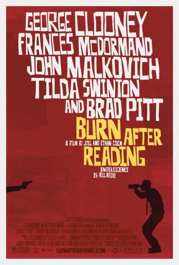 First Burn After Reading Poster