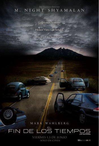 The Happening Poster - Mexico