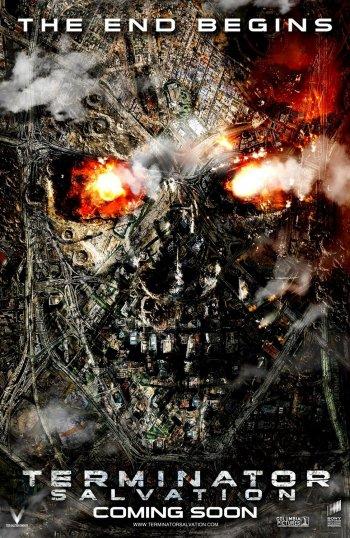 new terminator salvation poster movieposteraddict